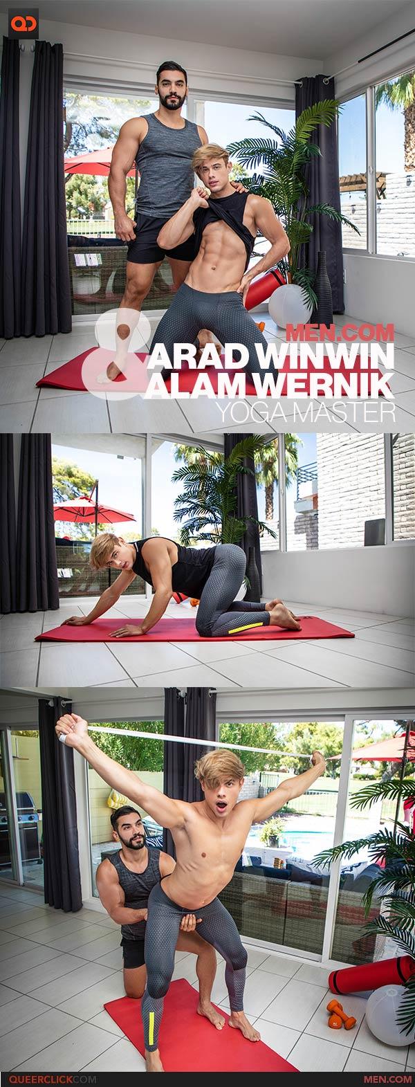 Men.com: Alam Wernik and Arad Winwin