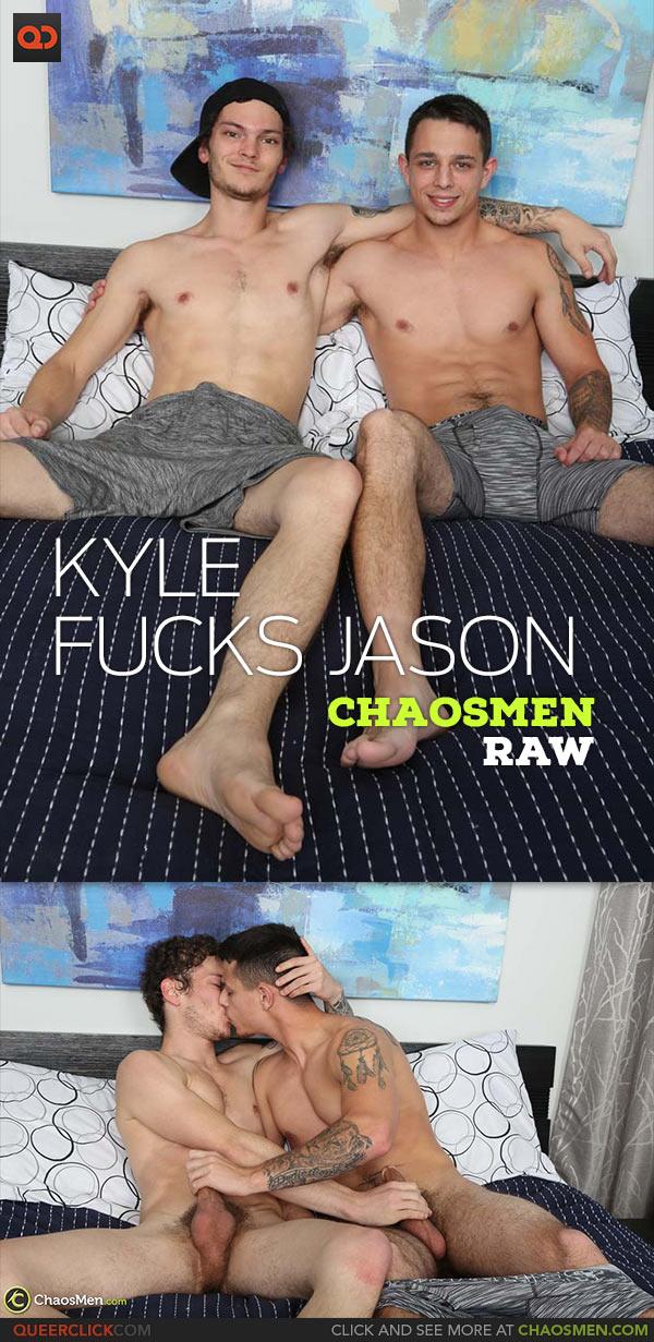 ChaosMen: Kyle Wyncrest Fucks Jason Windsor - Bareback