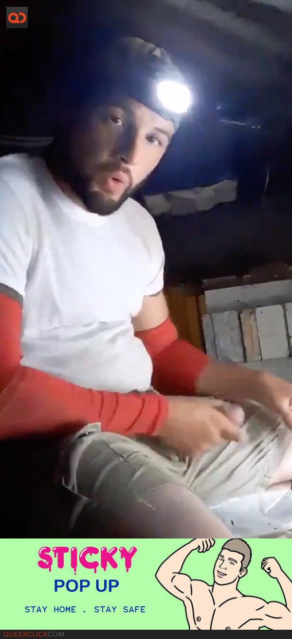 amateurs,big cock,cum,masturbation,jerk off,hands free cum shot,sticky premium