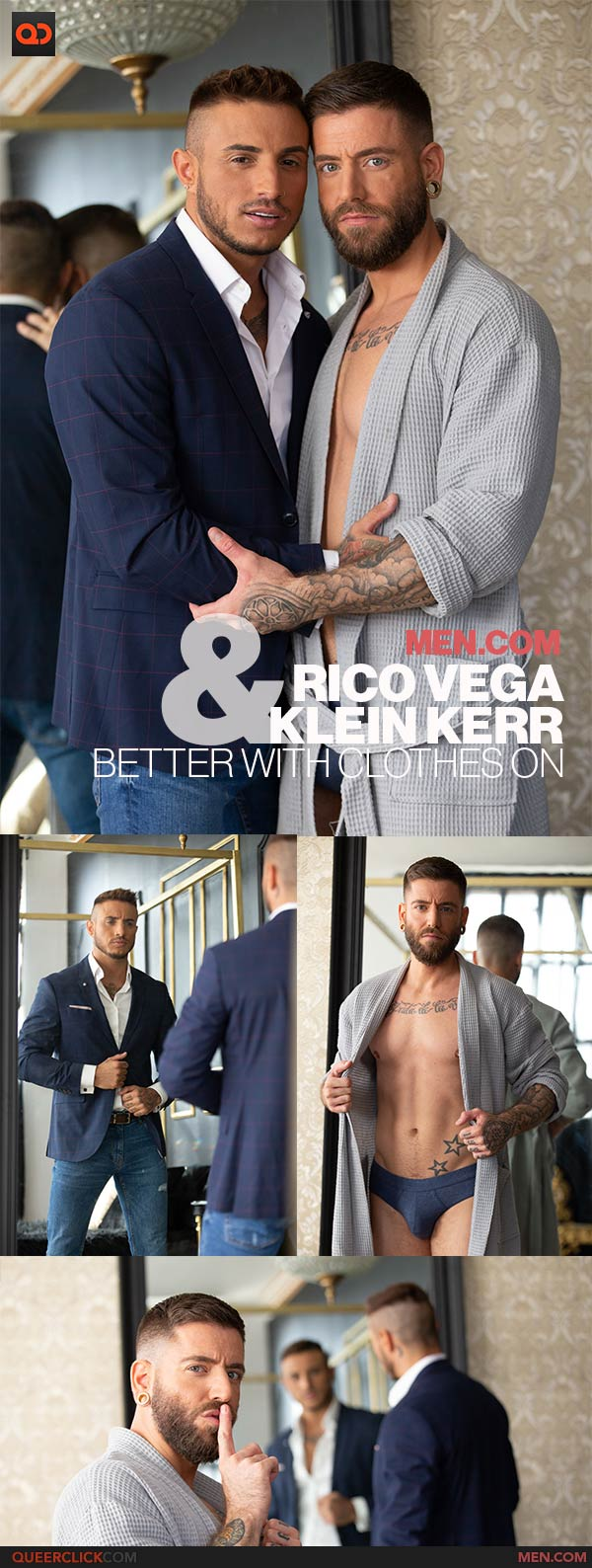 Men.com: Rico Vega and Klein Kerr