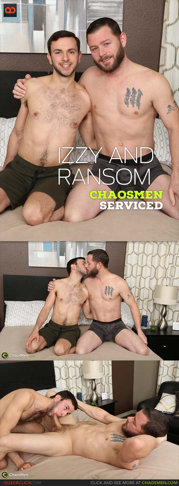 ChaosMen: Izzy Danger and Ransom - Serviced