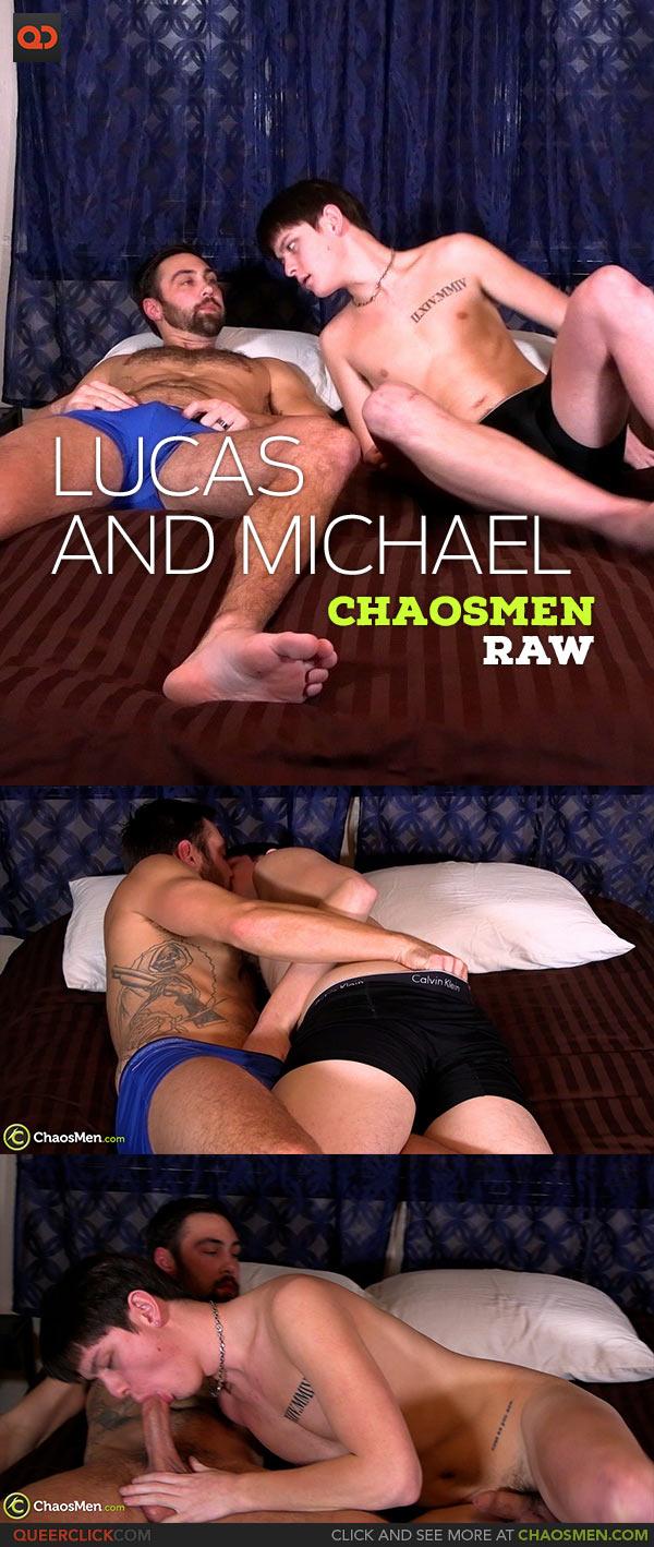 ChaosMen: Michael Mission Fucks Lucas Porter - Bareback