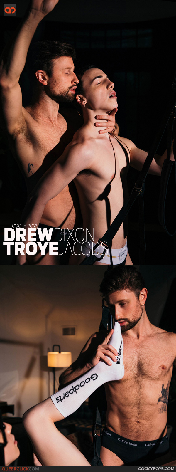 CockyBoys: Drew Dixon and Troye Jacobs