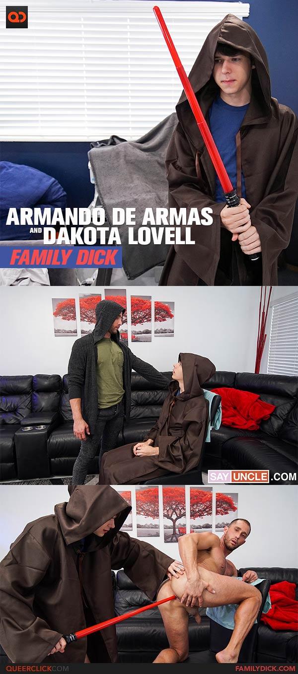 Family Dick: Armando de Armas and Dakota Lovell