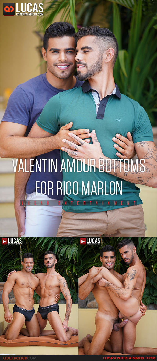 Valentin Amour Bottoms for Rico Marlon Cover