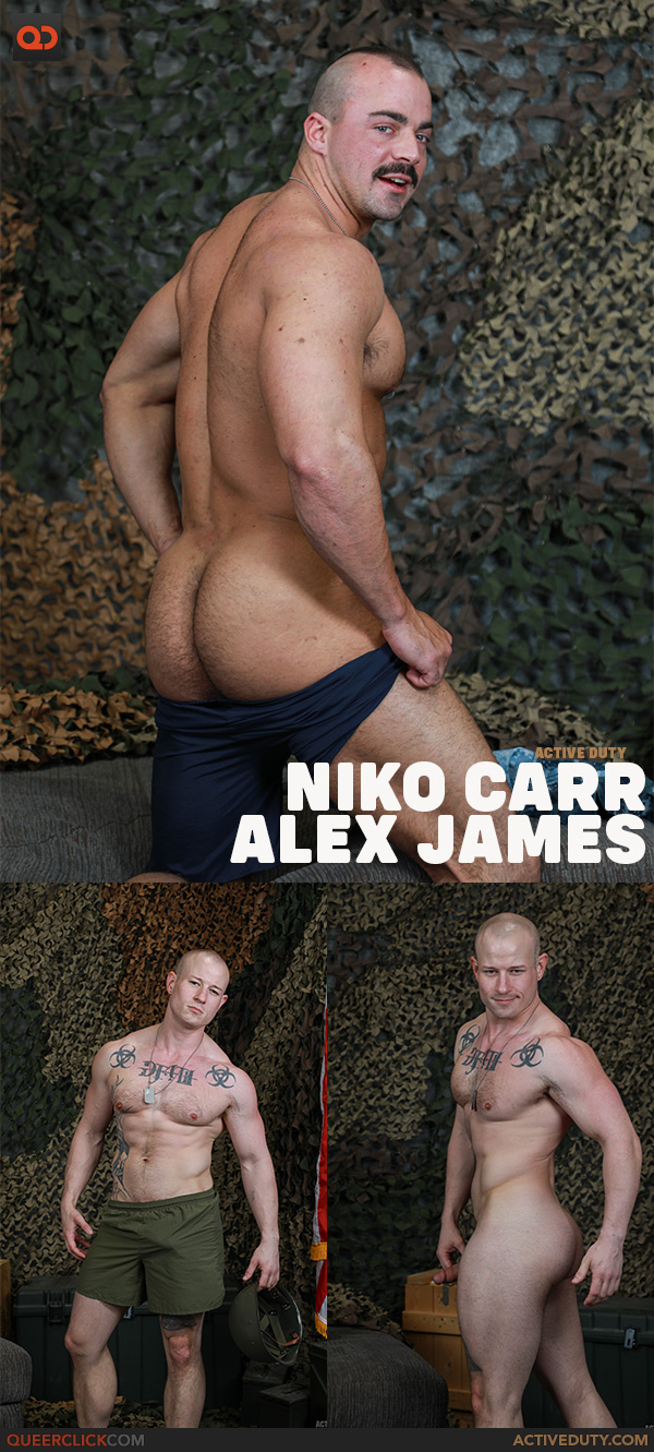 Active Duty: Alex James and Niko Carr
