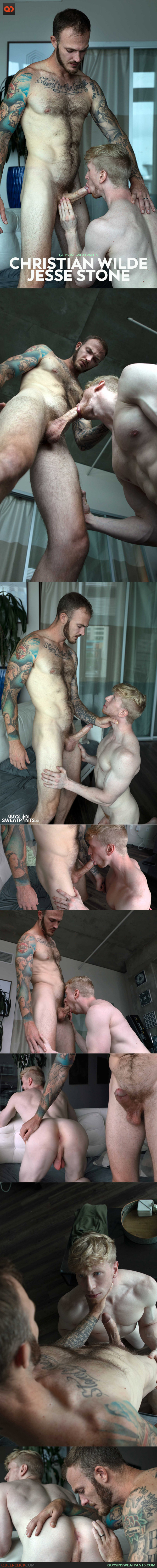 Guys in Sweatpants: Christian Wilde and Jesse Stone