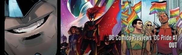 DC Comics Previews 'DC Pride #1
